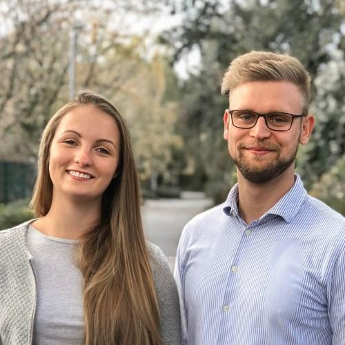 Jana und Felix FiBloKo 2018 Workshop-Orga-Paar