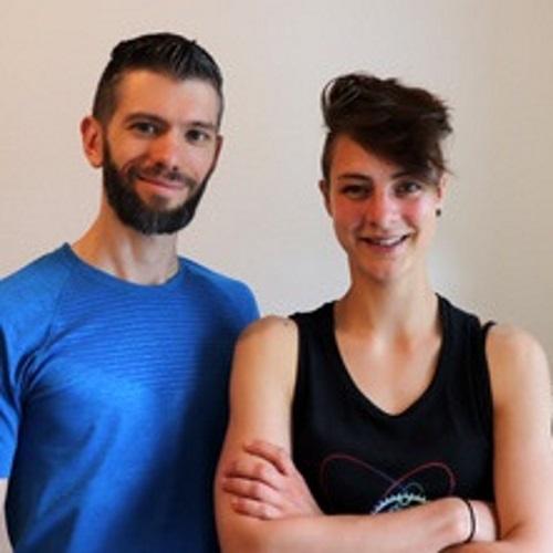 Lotta und Schorsch von Tri it Fit Workshopleiter