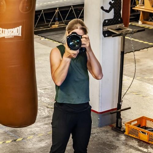 Sportfotografin Kerstin Leicht im Podcast-Interview