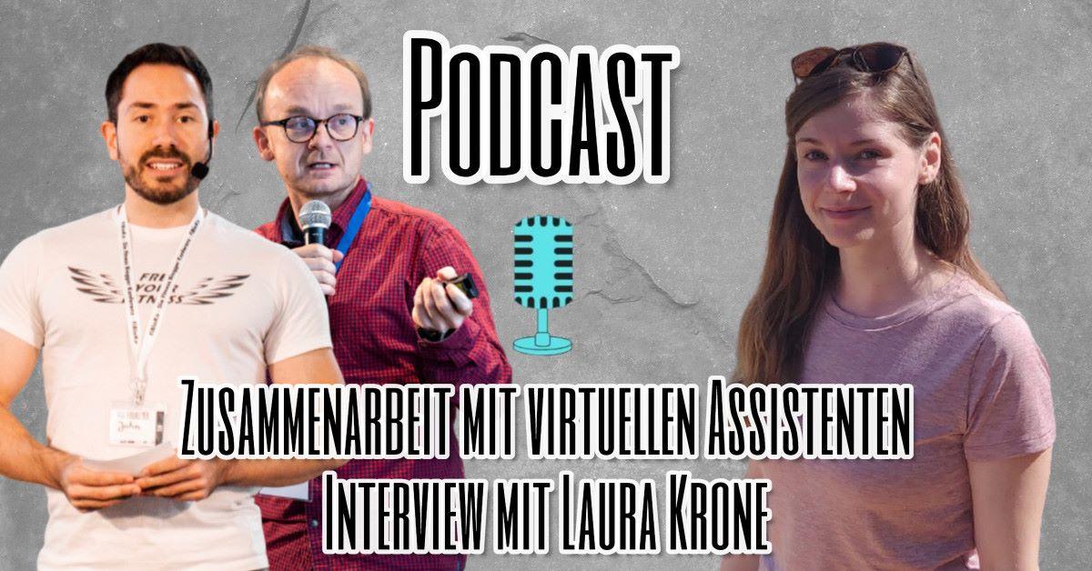 Zusammenarbeit mit virtuellen Assistenten Interview mit Laura Krone