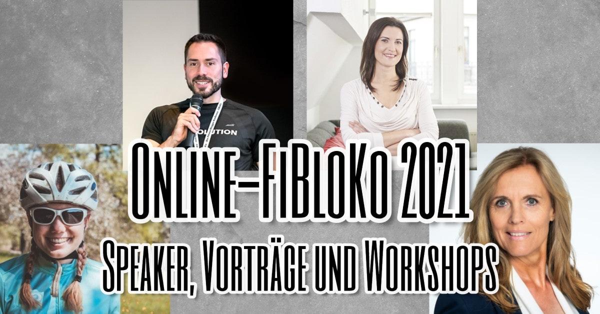 Online-FiBloKo 2021 Speaker Vorträge und Workshops
